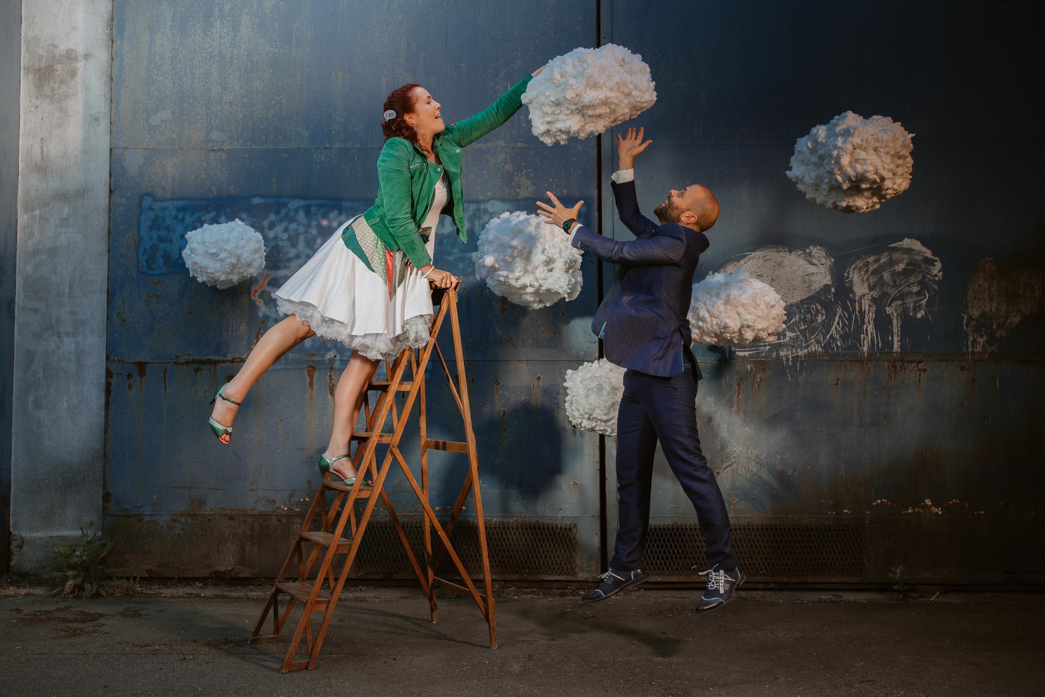 photo d'une séance de couple après mariage poétique & originale à Nantes par Geoffrey Arnoldy photographe