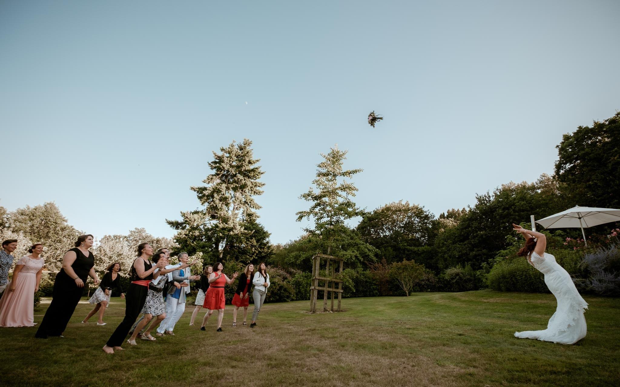photographies d'un mariage écossais à Arzon, Morbihan