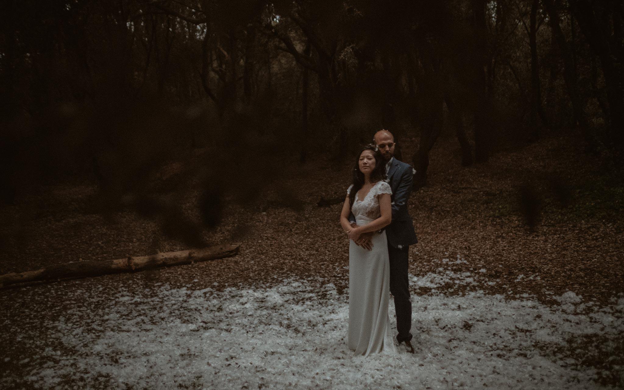photo d'une séance de couple après mariage feérique & onirique en vendée par Geoffrey Arnoldy photographe