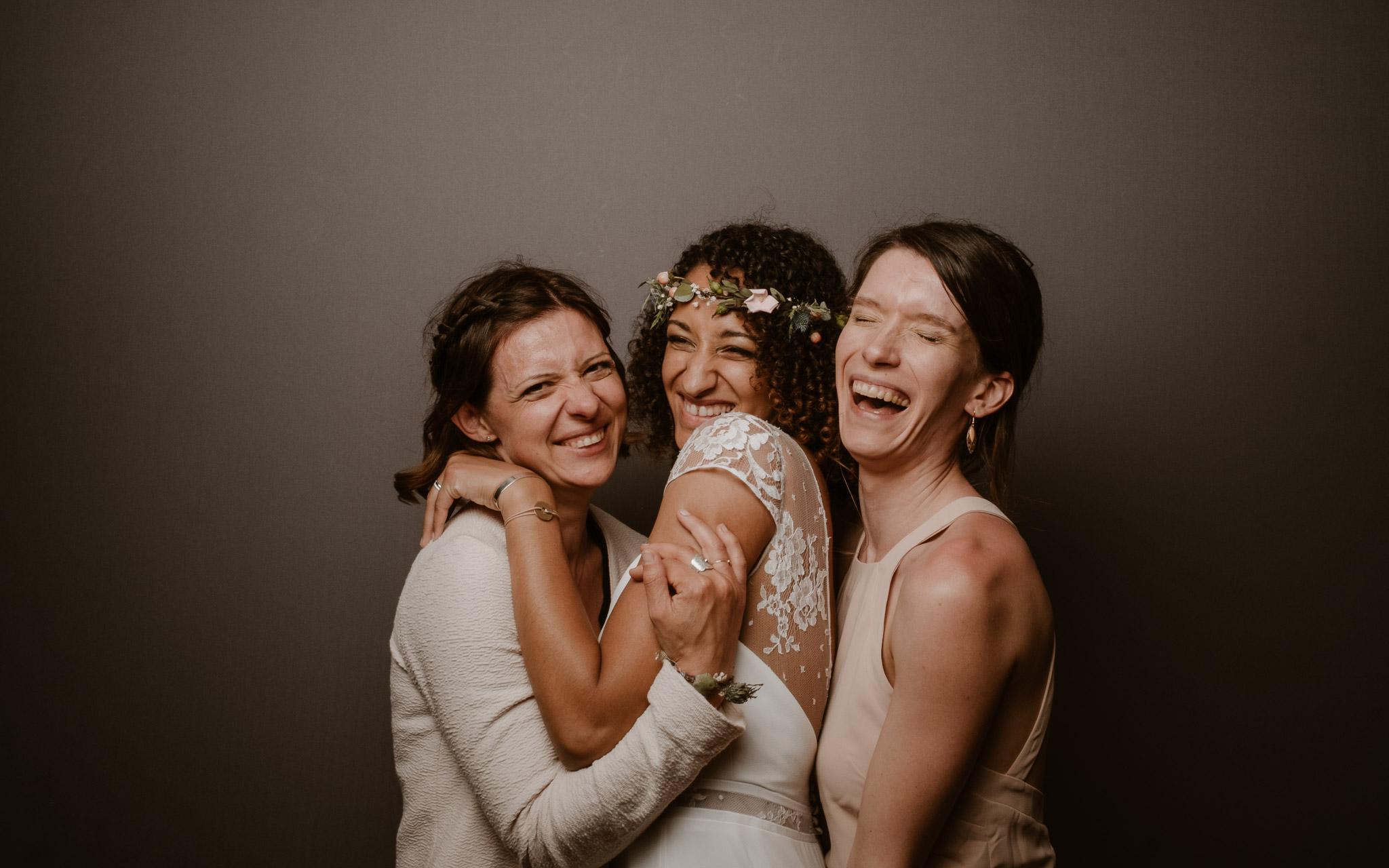 photographies d'un mariage hippie chic à la Chapelle sur Erdre, près de Nantes