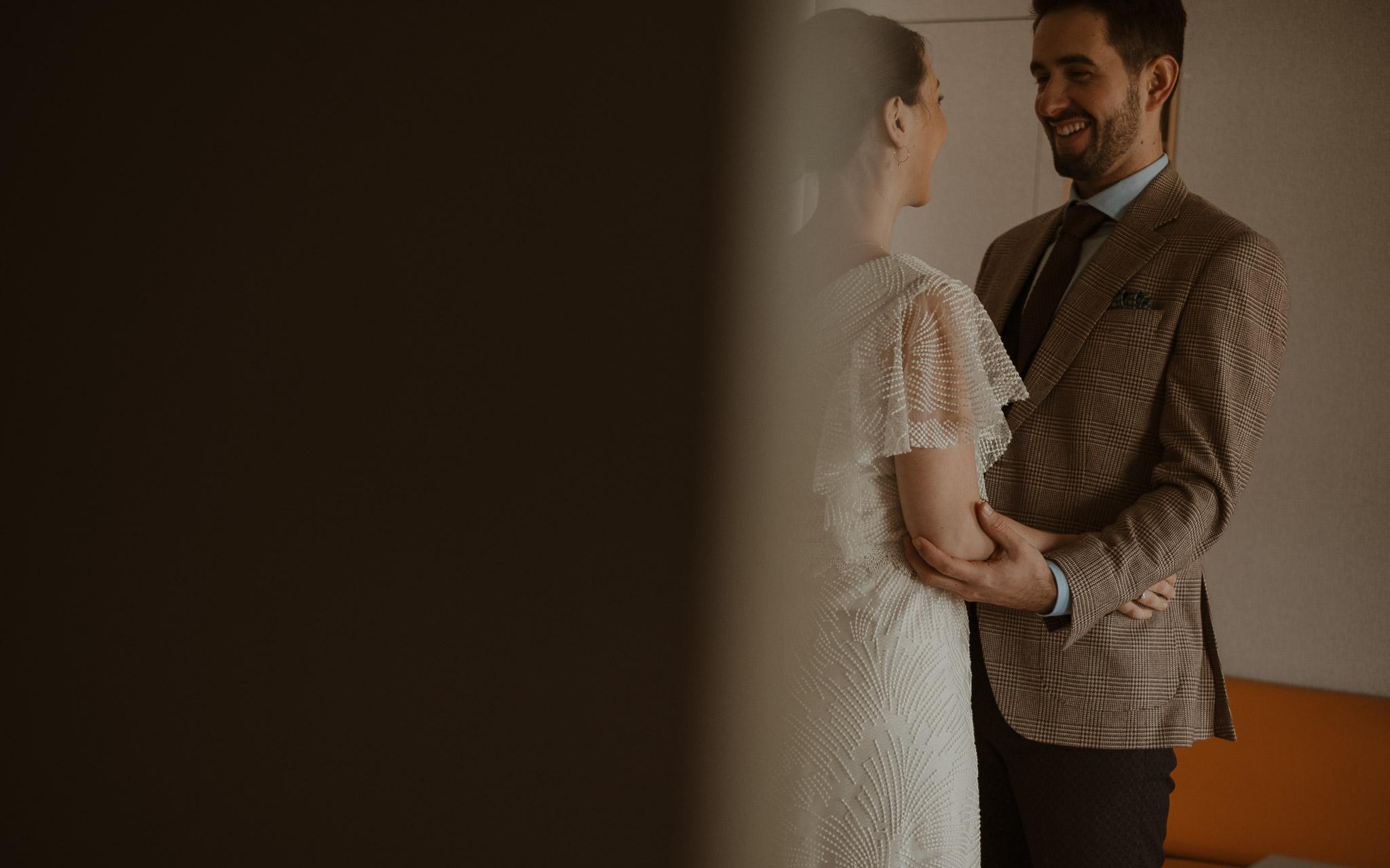 photographies d'un mariage d'hiver à Chauché, en Vendée