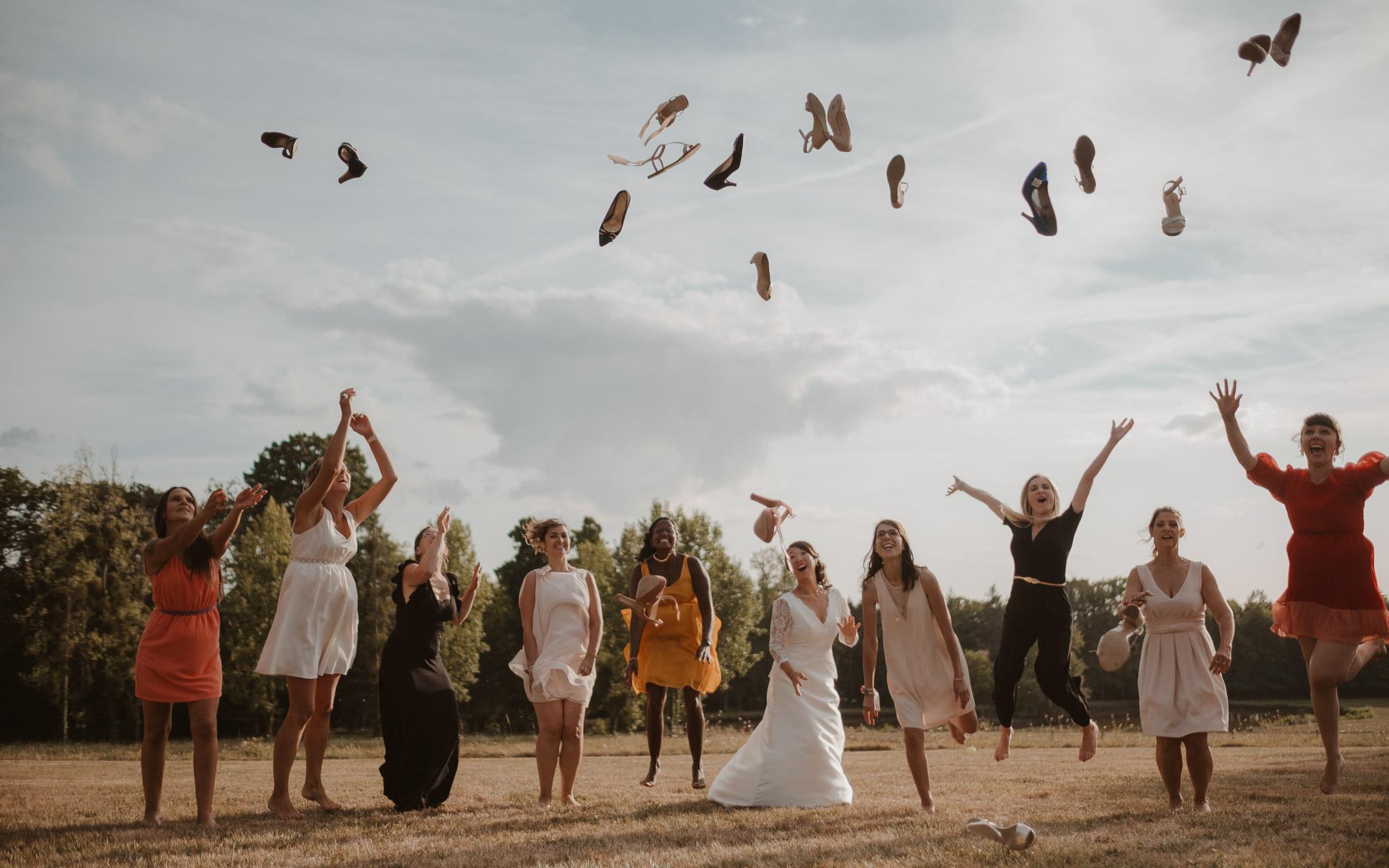 photographies d'un mariage chic à Héric, près de Nantes