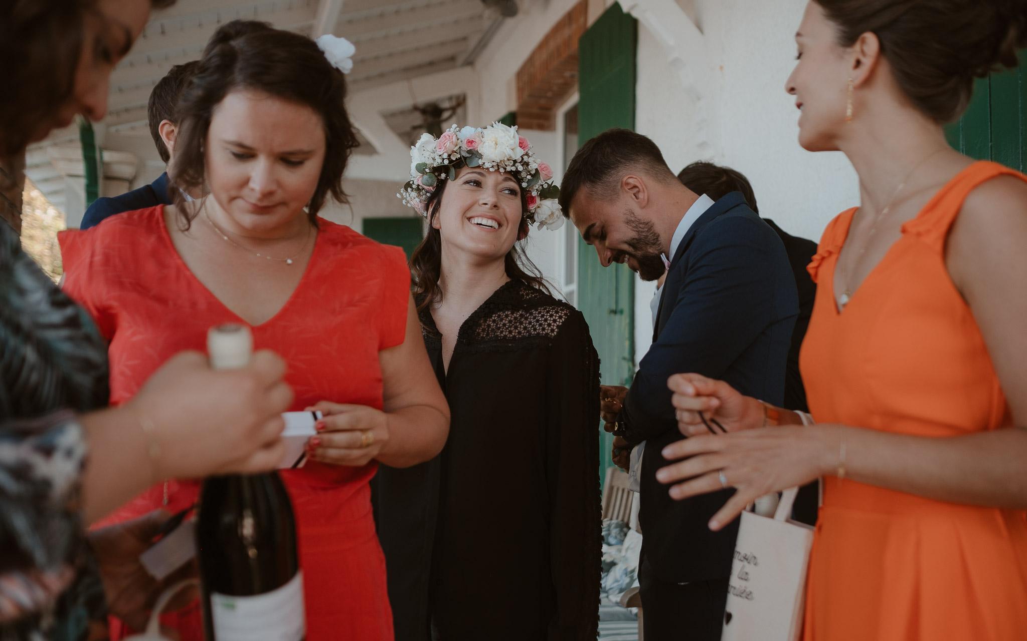 photographies d'un mariage tropical au Château de Saint-Marc à Saint Nazaire