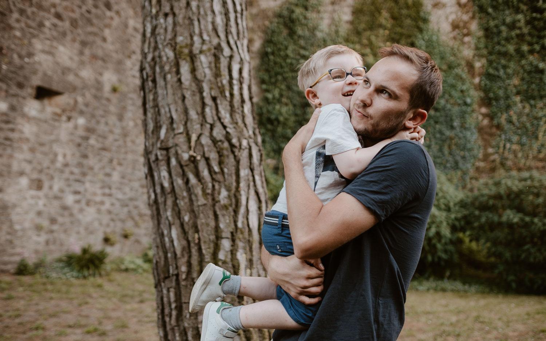 photographies d'une famille à Clisson, près de Nantes